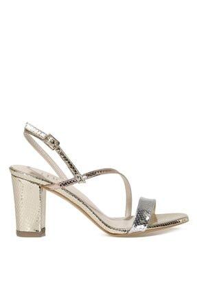 İnci Cannes.z 1fx Altın Kadın Topuklu Sandalet