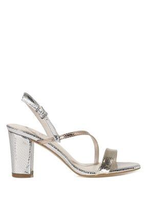 İnci CANNES.Z 1FX Gümüş Kadın Topuklu Sandalet 101038257
