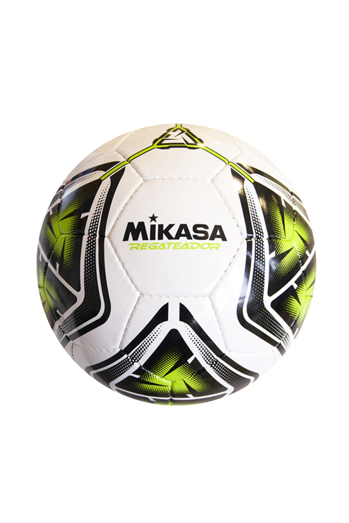 MIKASA Beyaz Yeşil Futbol Topu Regateador5-g 2