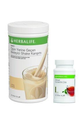 Herbalife 1 Vanilyalı Shake 1 Çay 50