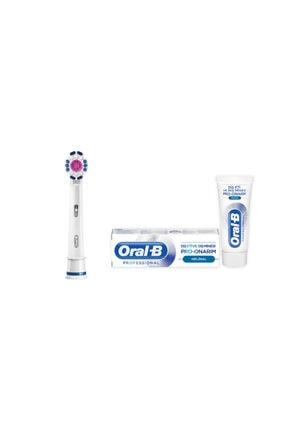 Oral-B 3d White Yedek Başlık 1 Adet + Diş Macunu