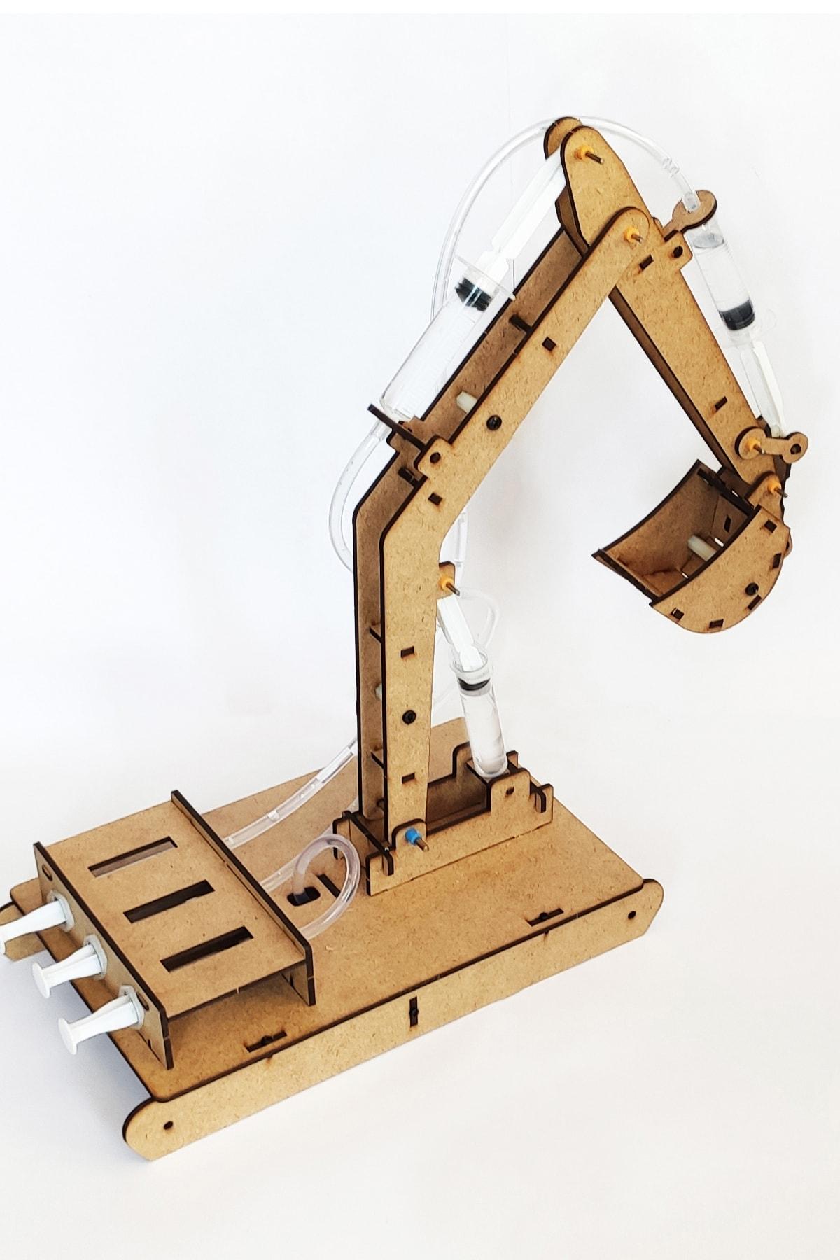 robotikşeyler Kendin Yap Ekskavatör Kepçe Seti - Çocuklar Için Robotik Kodlama Setleri 1