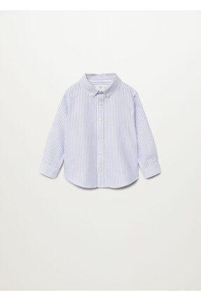 MANGO Baby Pamuklu Oxford Gömlek
