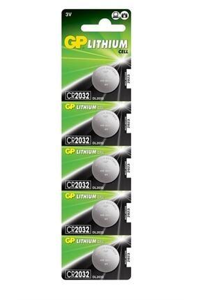 TNL Gp Cr2032 3v Lityum Para Pil 5'li Blister