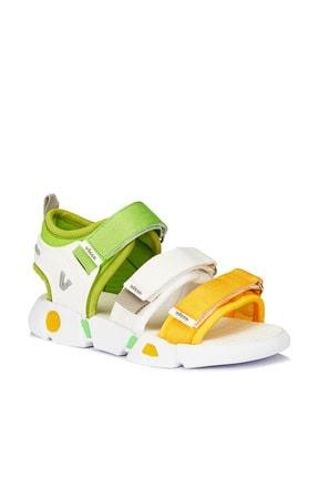 Vicco Gorbi Unisex Bebe Beyaz Sandalet