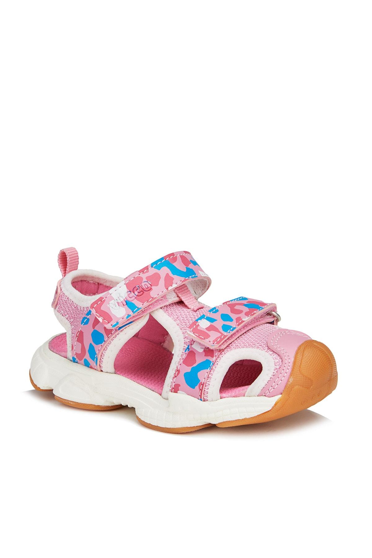 Vicco Leo Kız Çocuk Pembe Sandalet 1