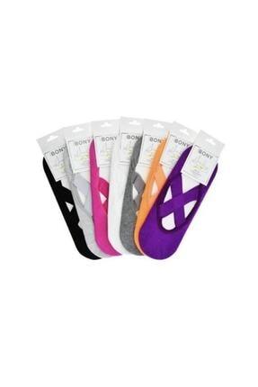 Dore Yoga & Plates Çorabı 2'li Paket Renkli