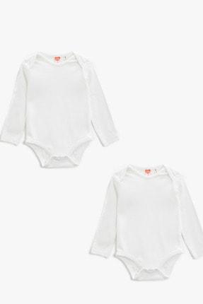 Koton Erkek Bebek Beyaz Çocuk Takımları 1YNB14478TK