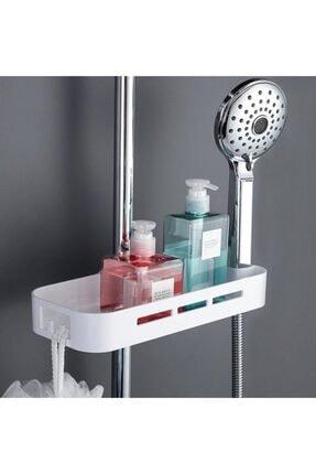 Dalki Banyo Duş Organizer Plastik Sabunluk Banyo Rafı