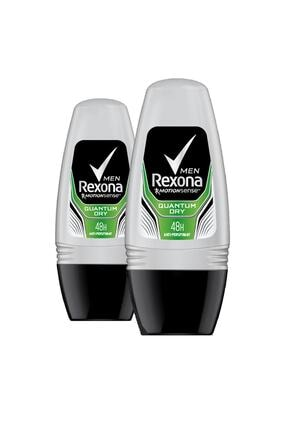 Rexona Erkek Quantum Dry 50 ml Deodorant Roll On x2