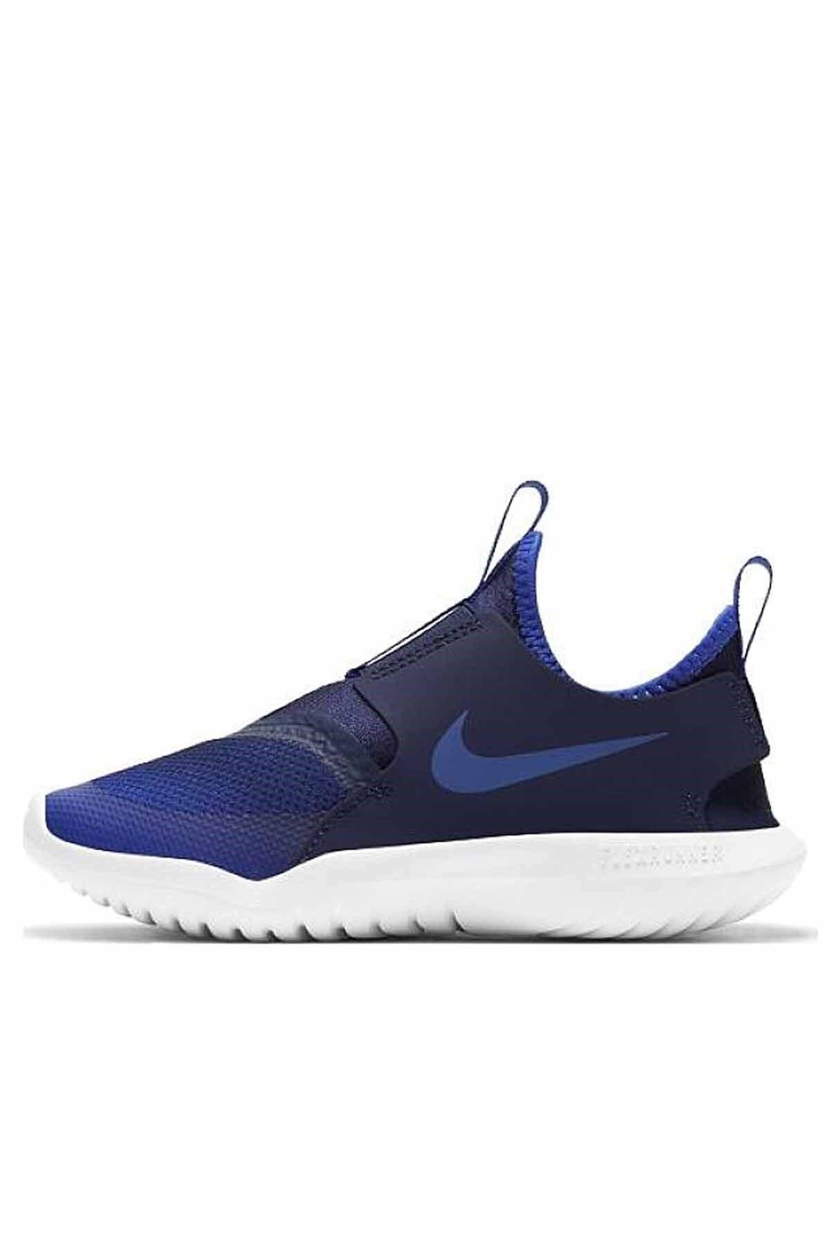 Nike Unisex Çocuk Lacivert Flex Runner Yürüyüş Koşu Ayakkabı At4663-407 2