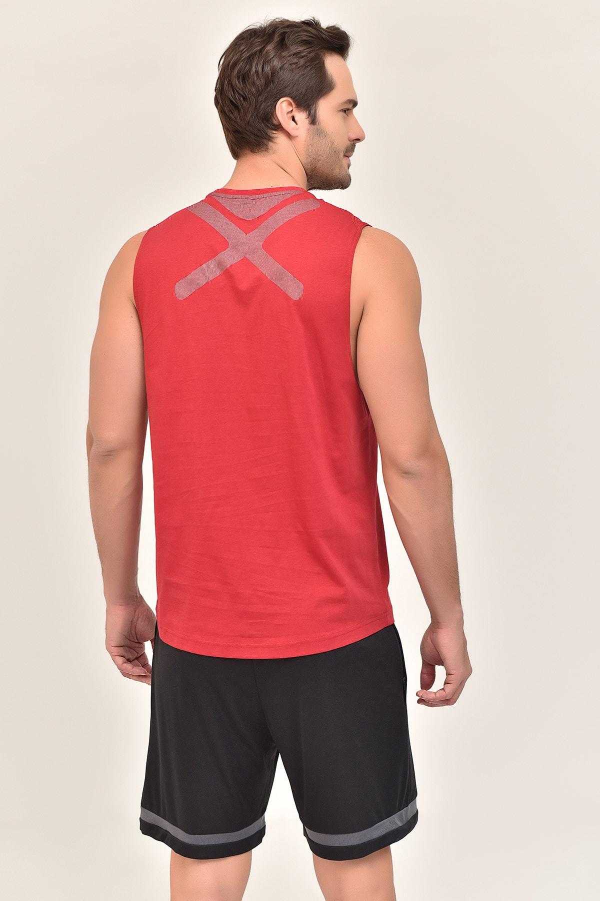 bilcee Bordo Pamuklu Erkek Atlet Fs-1622 2