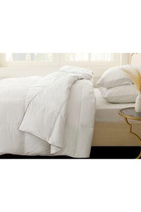 English Home Super Soft Kaz Tüyü Tek Kişilik Yorgan 155x215 Cm Beyaz