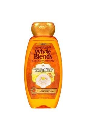 Garnier Whole Blends Fas Argan Ve Kamelya Yağı Özlü Parlaklık Şampuanı 370ml