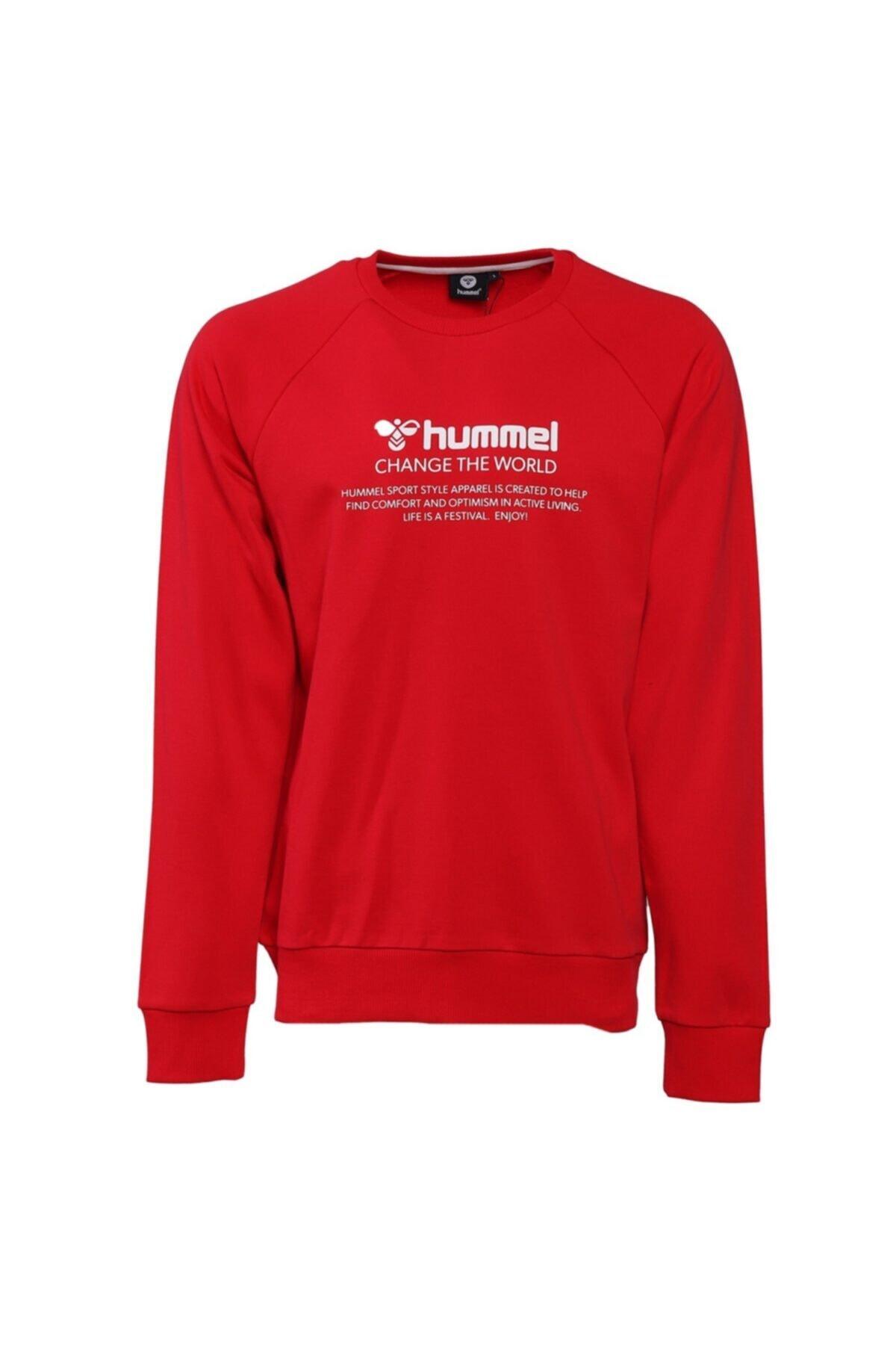 HUMMEL Erkek Kırmızı Sweatshirt 1