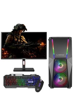 "Zeiron Xforce G50 I5-3470 16gb 120gb + 1tb 4gb Gt730 24"" 144hz Oyun Pc"