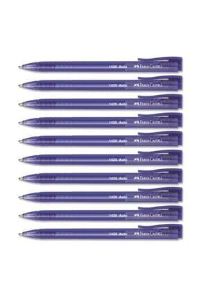 Faber Castell Mavi Tükenmez Kalem 10'lu Kutu