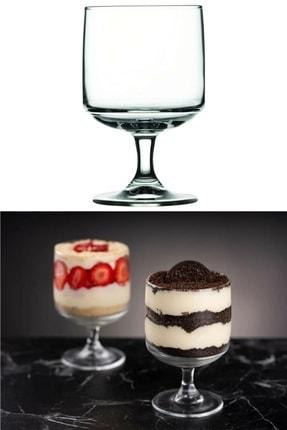 Manor 6'lı Ayaklı Dondurma Ve Magnolia Bardağı Cam Değildir