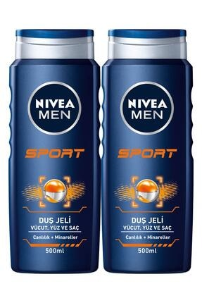 Nivea Duş Jeli Sports 500 ml X 2