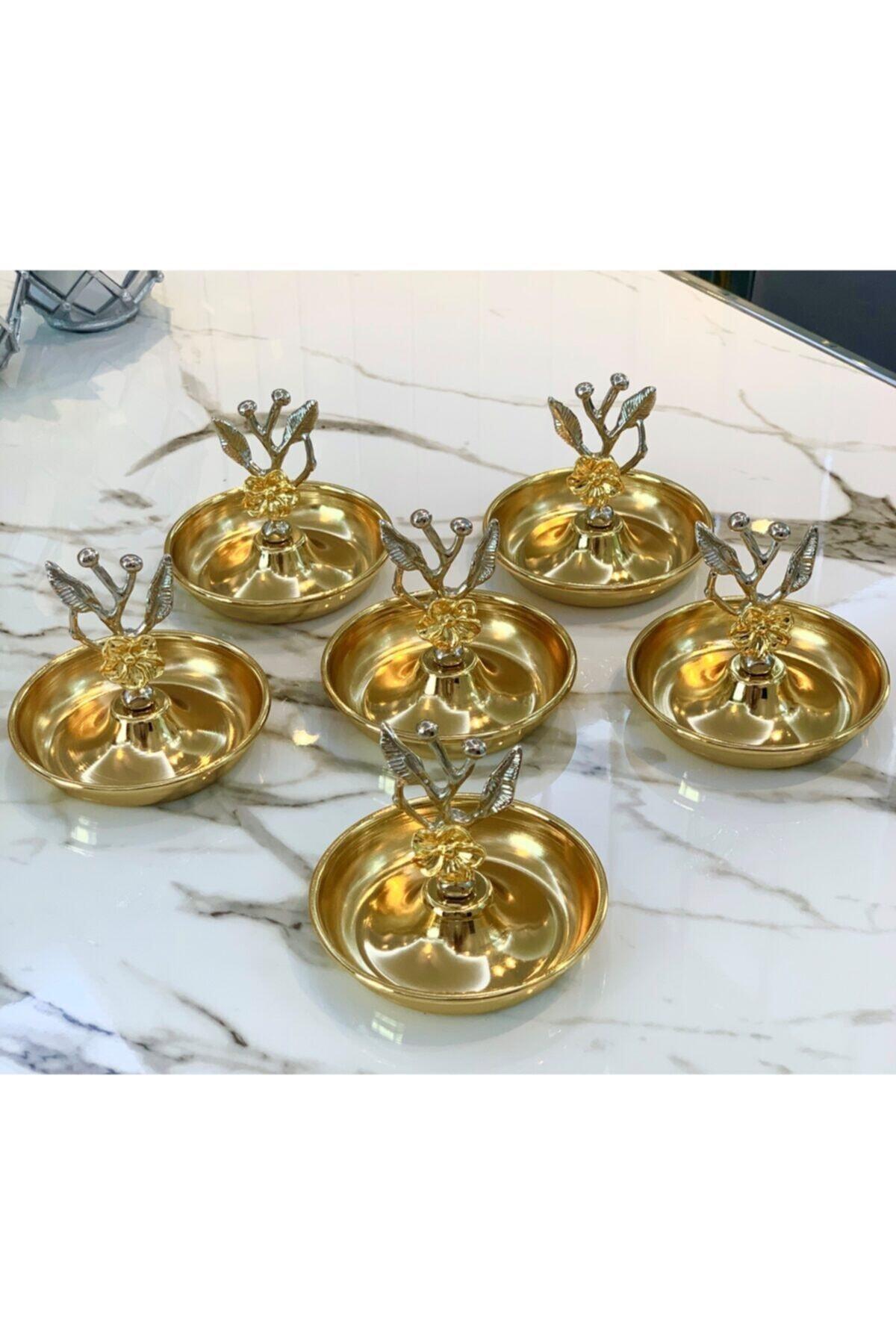 Dalgıç Gümüş 6'lı Japon Gülü Lokumluk Seti 1