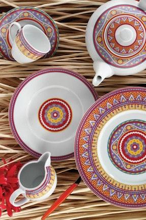 Kütahya Porselen Mitterteich 8661 Desen 24 Parça Yemek Seti