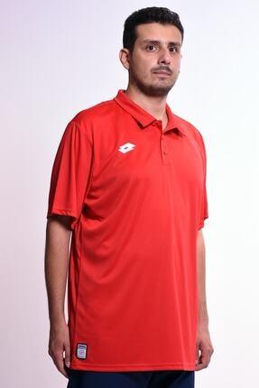 Lotto Erkek Kırmızı Polo Yaka T-shirt - Polo Delta Pl - R4321