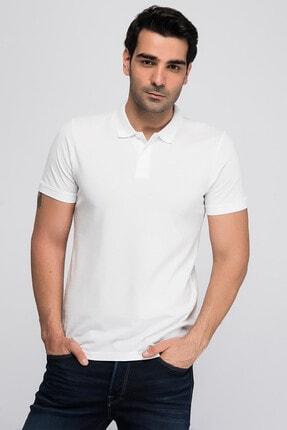 Jack & Jones JJEBASIC POLO SS NOOS Beyaz Erkek Kısa Kol T-Shirt 101069441
