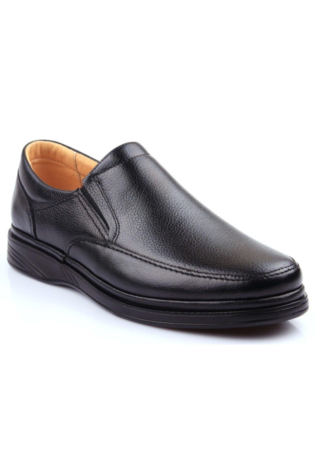 DETECTOR Iç Dış Hakiki Deri Ultra Ortopedik Büyük Numara Günlük Erkek Ayakkabı 700-10 1