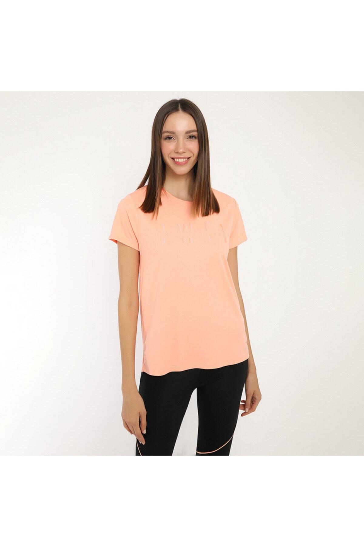 lumberjack Kadın Somon T-shirt W-18165 1