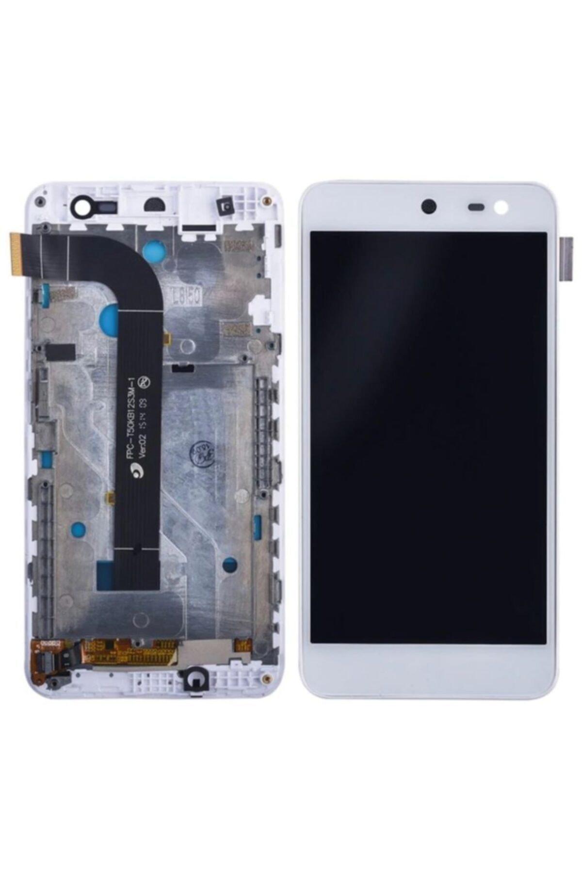 General Mobile Discovery 4g Lcd Ekran Dokunmatik Çitalı Çıkma-beyaz 1