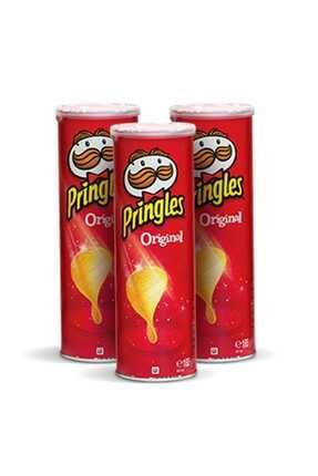 Pringles Prıngles 165gr Orgınal X3