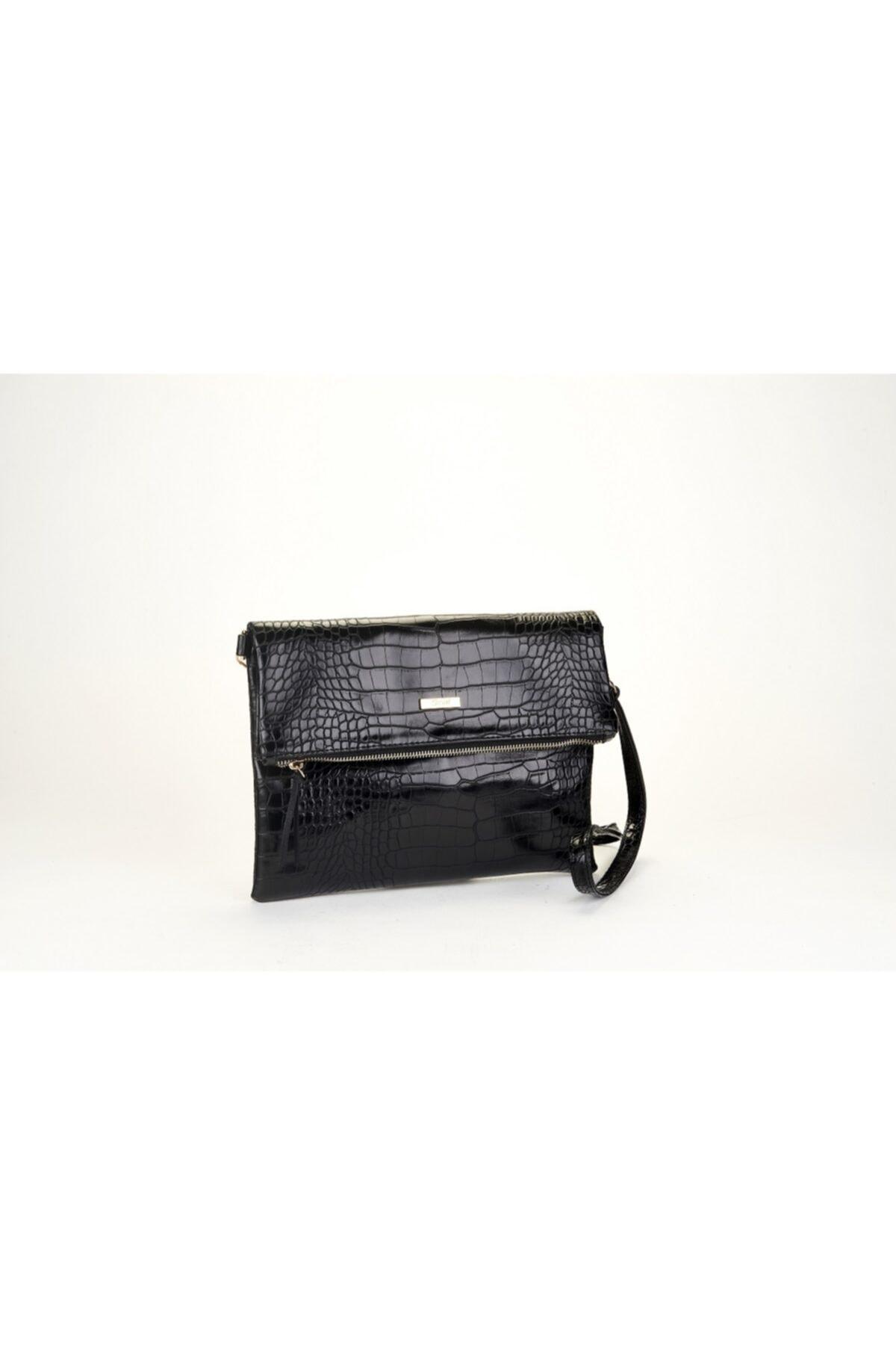 Coquet Accessories Kadın Siyah Black Clutch 19G3U13N355 1