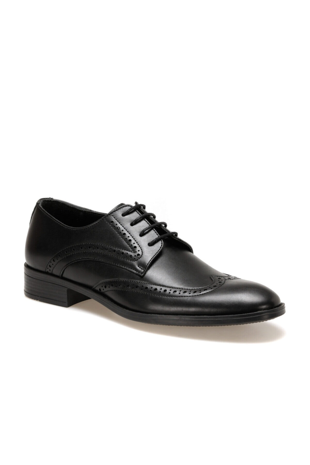 Downtown Erkek Siyah Klasik Ayakkabı 113-5 1