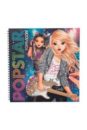 Top Model Popstar Boyama Kitabı 4324