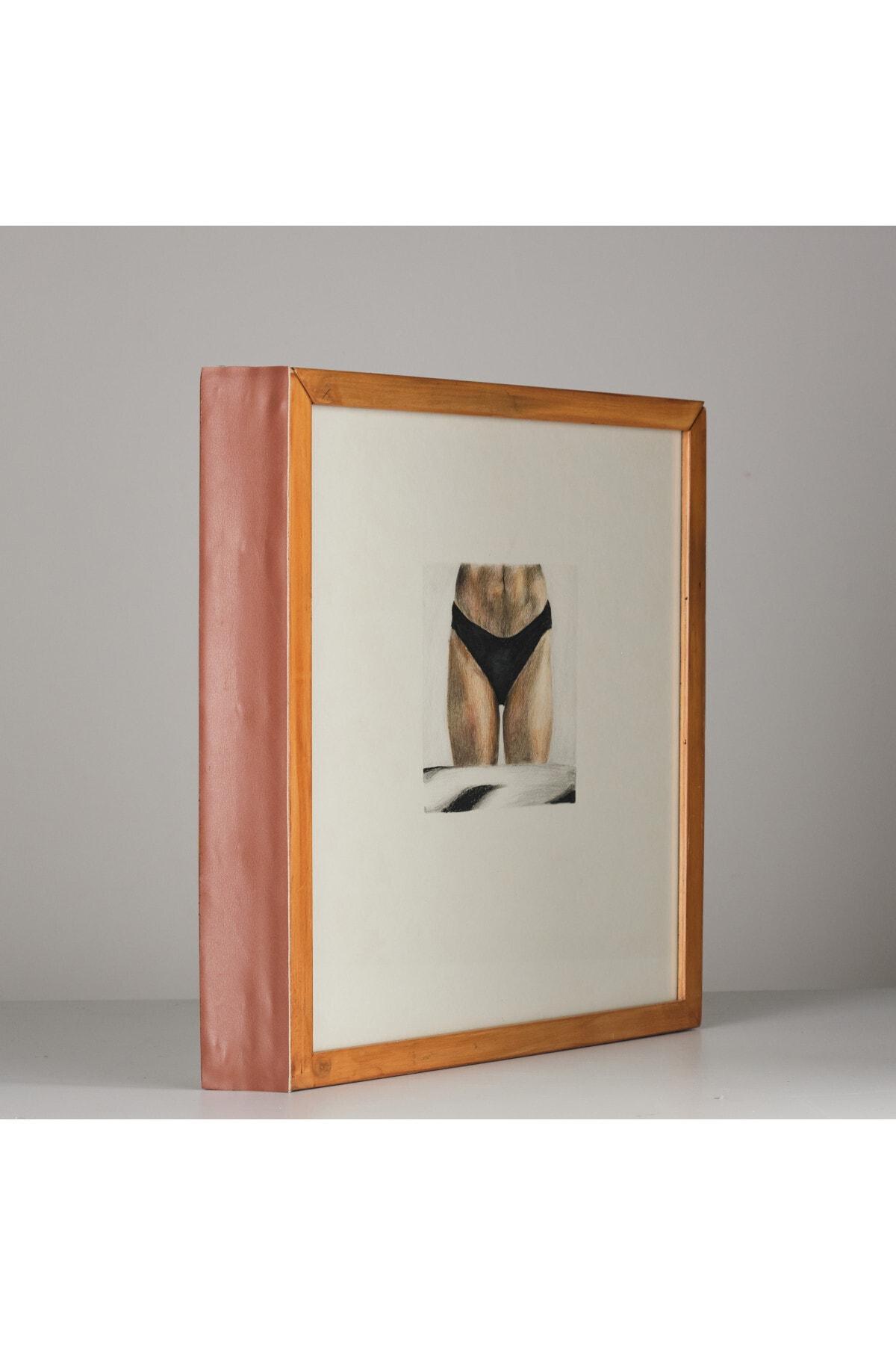 Özge Akdeniz Aç Bacak, 40x65x170, Kağıt Üzerine Renkli Kalem 2