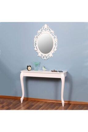 EraHome Beyaz Aynalı Dresuar