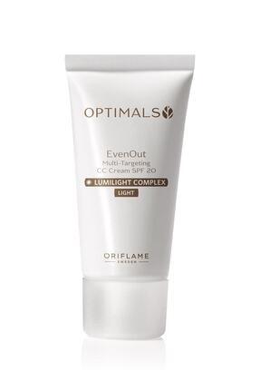 Oriflame Optimals Even Out Cc Krem Spf 20 Lıght 30 Ml 5051379497640