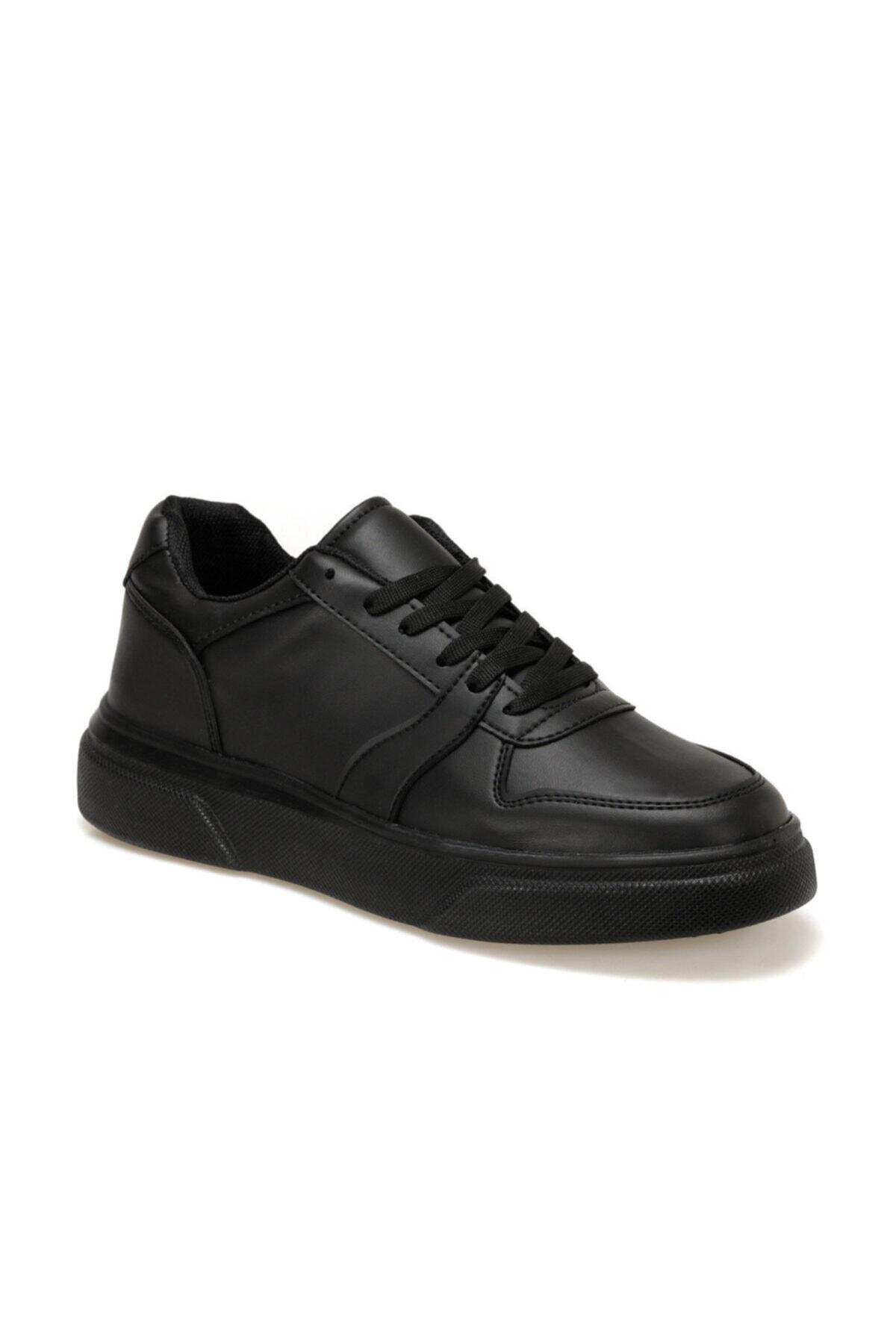 Torex ENZO Siyah Erkek Kalın Taban Sneaker Spor Ayakkabı 100577269 1