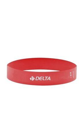 Delta Pembe Aerobik Bandı Lateks Bant Pilates Lastiği Rlm614