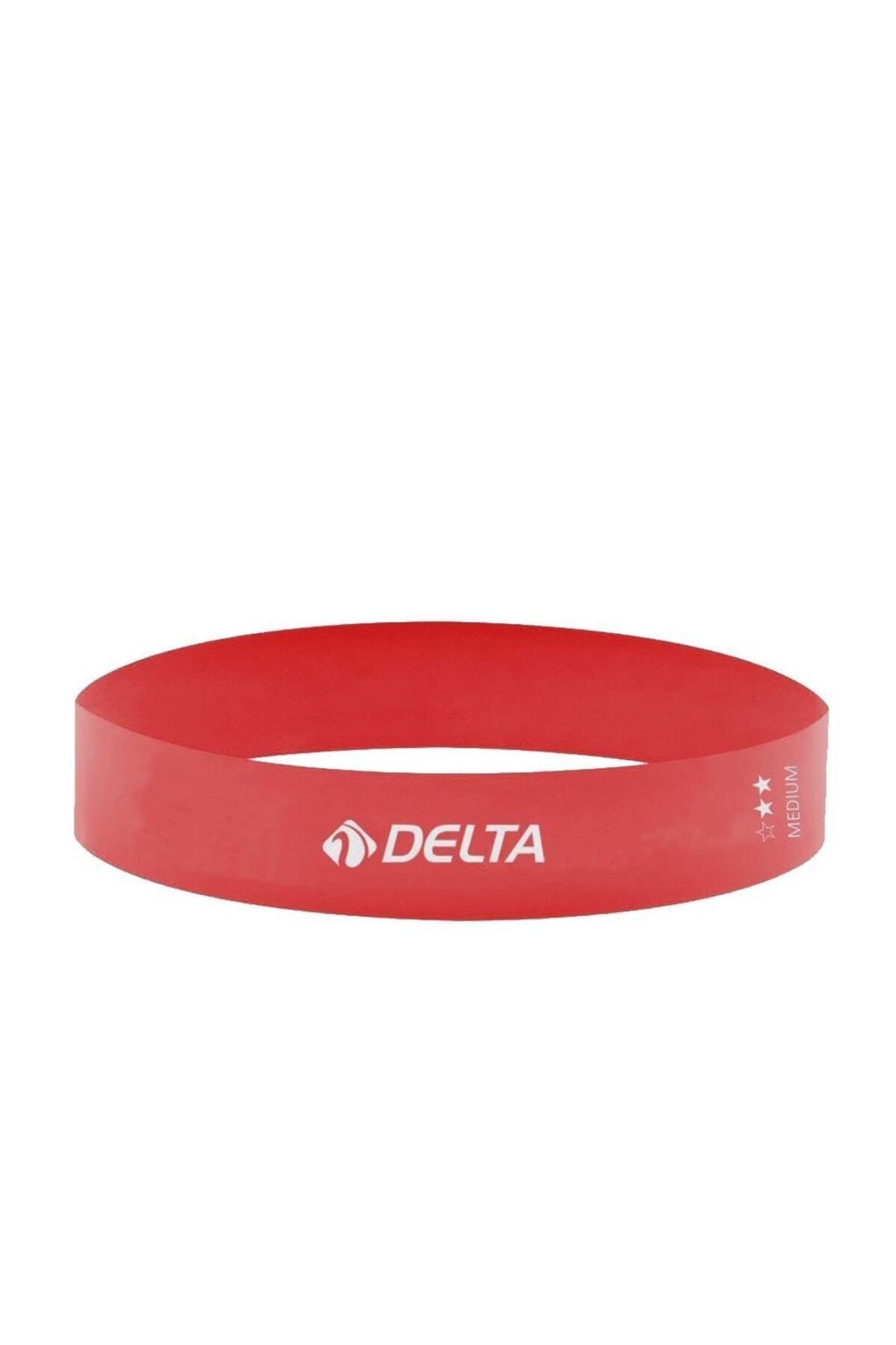 Delta Pembe Aerobik Bandı Lateks Bant Pilates Lastiği Rlm614 1