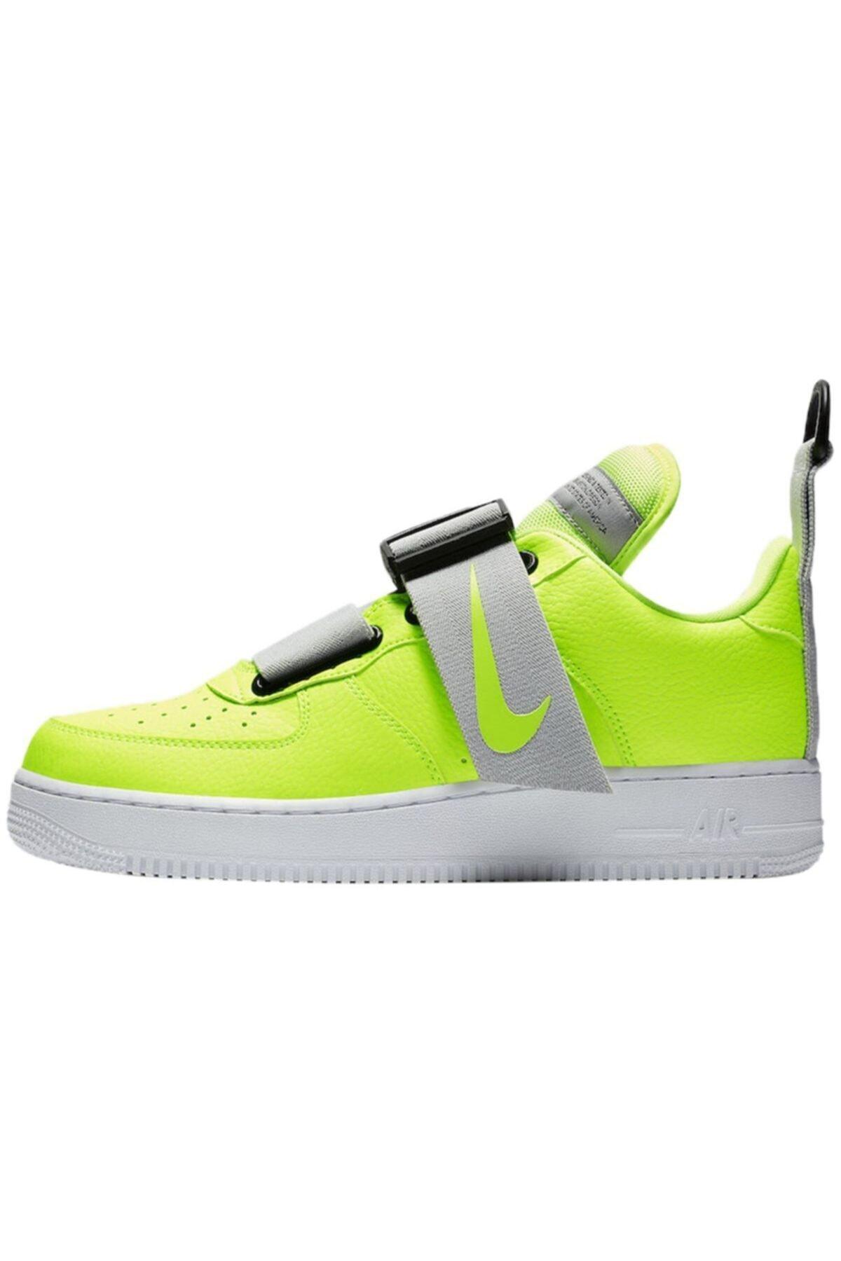 Nike Unisex Spor Ayakkabı Air Force 1 Utility Volt Ao1531-700 1