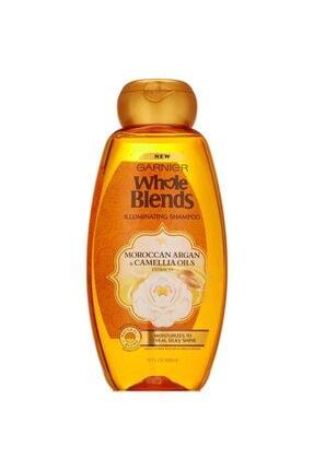 Garnier Whole Blends Fas Argan Ve Kamelya Yağı Özlü Parlaklık Şampuanı 650ml