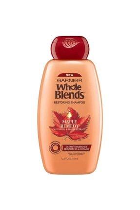 Garnier Whole Blends Hint Yağı Ve Akçaağaç Özlü Onarıcı Şampuan 370ml