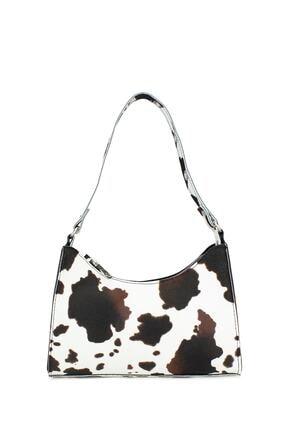 Housebags Kadın Kahverengi Baguette Çanta 195