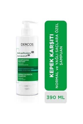 Vichy Dercos Şampuan Kepek Karşıtı Normal Ve Yağlı Saçlar 390 ml