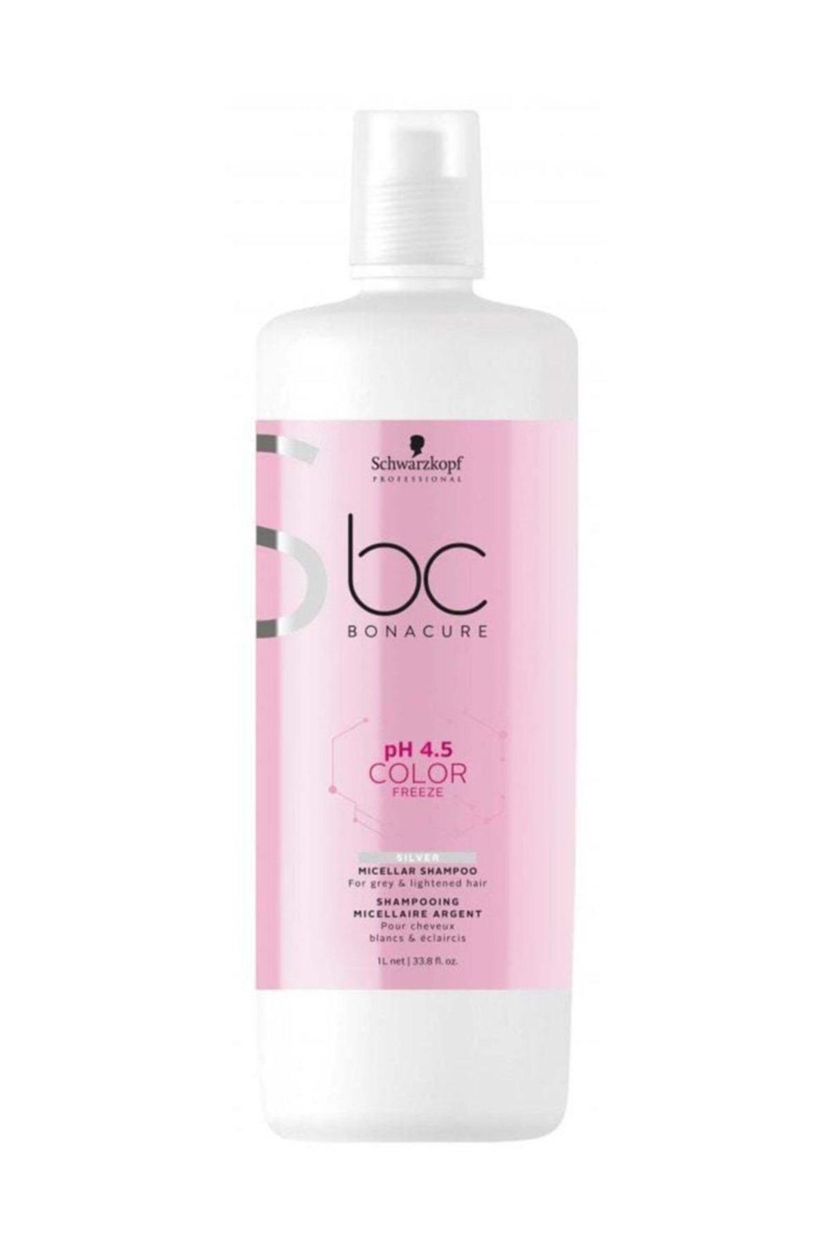 Bonacure Schwarzkopf Bonacure Ph 4,5 Color Freeze Silver Şampuan 1000 ml 1