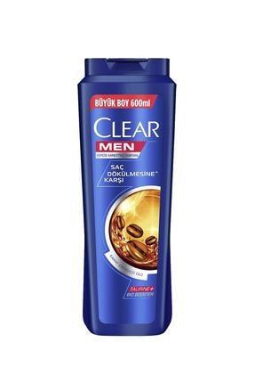 Clear Men Saç Dökülmesine Karşı Etkili Şampuan 600 ml