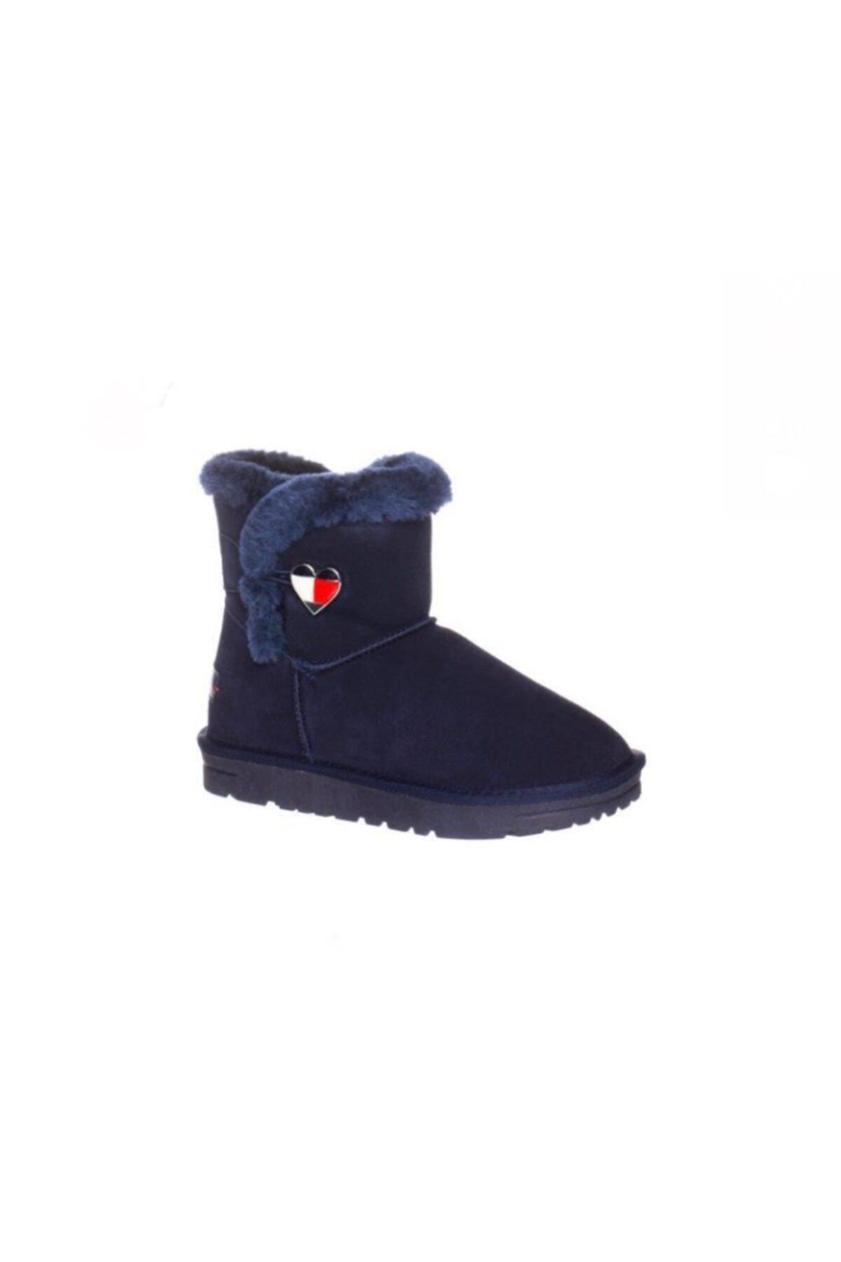 Tommy Hilfiger Blue Fur Boot 1