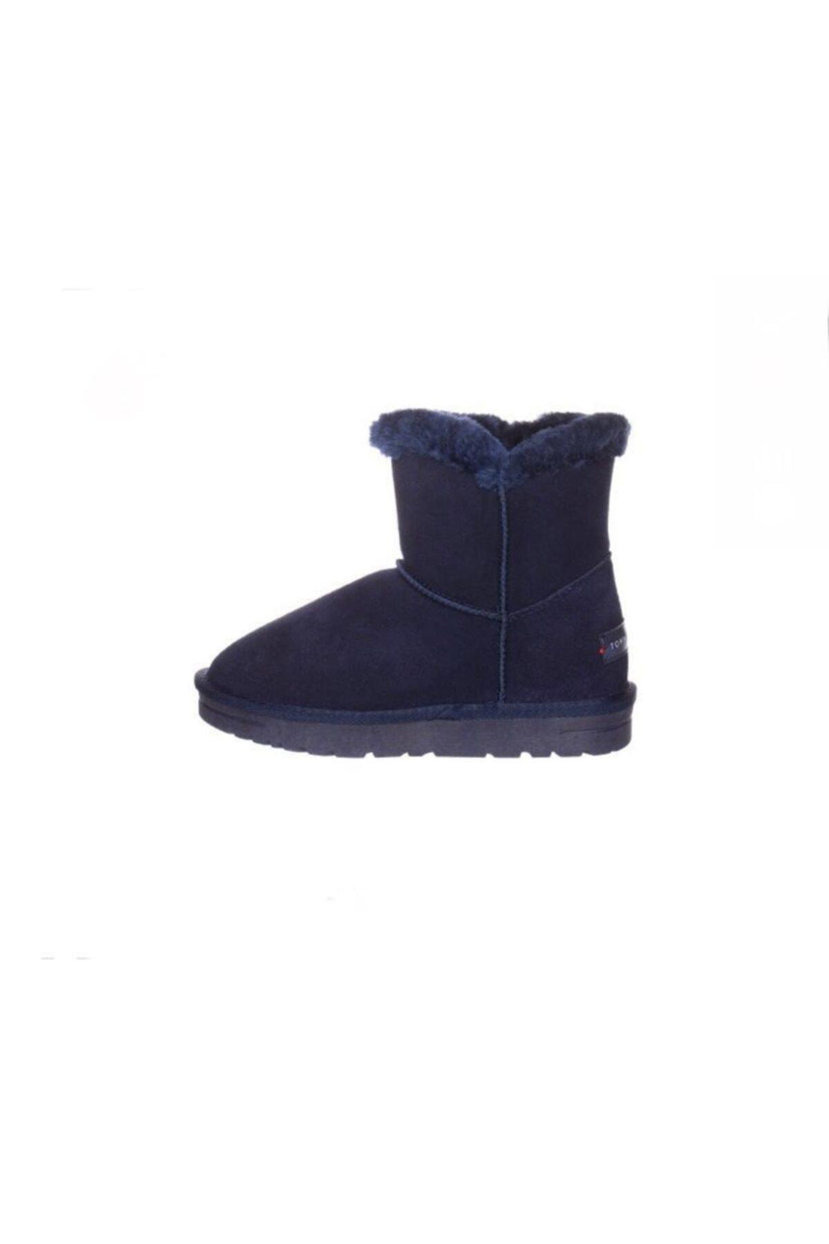 Tommy Hilfiger Blue Fur Boot 2