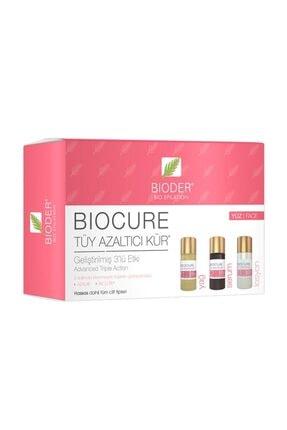 Bioder Biocure Tüy Azaltıcı Kür - Yüz Için 3x5ml